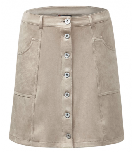 Louisa velour nederdel - Streetone 360006