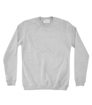Bread & Boxers LOUNG SWEATSHIRT - GREY MELANGE