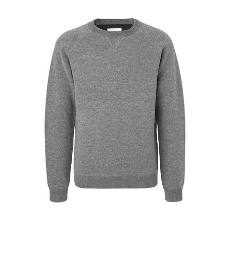 Strik sweatshirt - ANTRACITE MELANGE