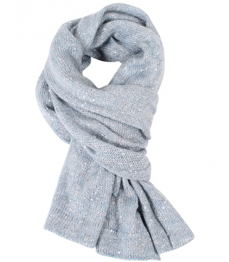 MOHAIR SEQUINS SCARF - 16804