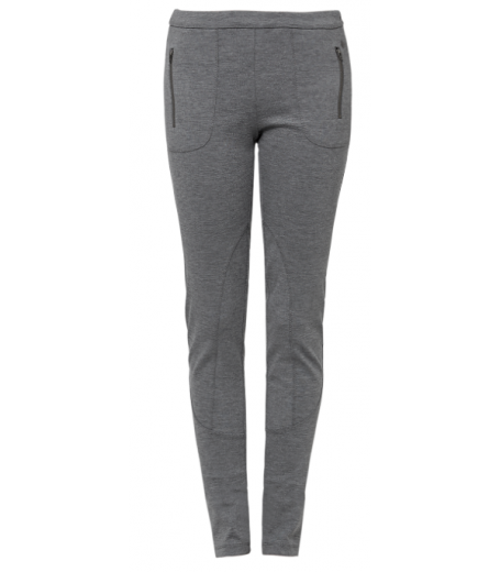 Mottled Stretch Trousers - S.Oliver