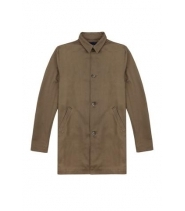 Native North Denim trench coat