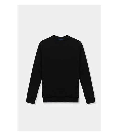 Native North French Terry Crewneck Black