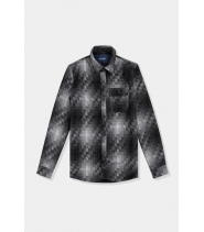 Native North Pixels Wool Overshirt