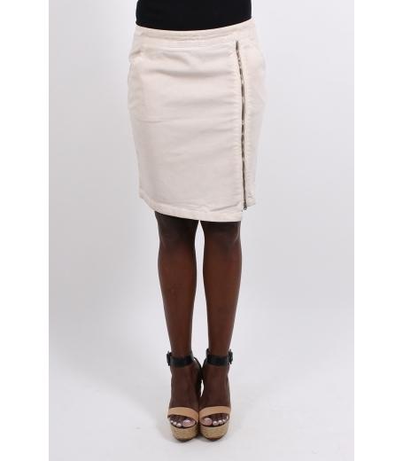Nederdel med lynlås