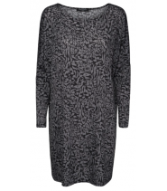 Oversize grafisk bluse fra Ilse Jacobsen - Crezia6