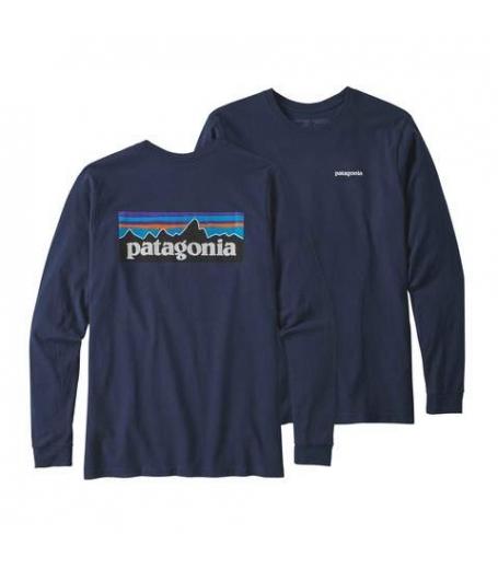 Patagonia L/S P6 Logo ResponsibiliTee