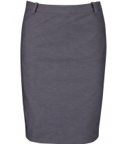 Pencil stretch skirt