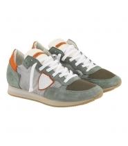 Philippe Model sneakers i grå/sage/hvid