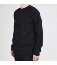Pullover wool jersey block - Trøje