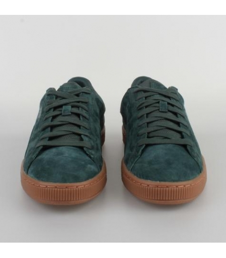 Puma Basket Classic Weatherproof Green