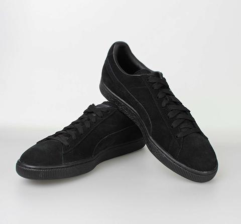buy popular b9af0 461ce Puma Suede Classic black-dark shadow