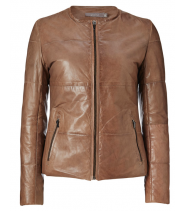 QUILTED LEATHER JACKET - GUSTAV 16307