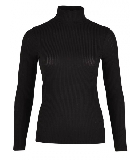 RIBBED ROLL NECK - SAINT TROPEZ N1558