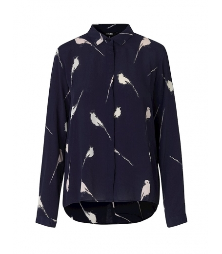 Skjorte med fugleprint fra mbyM