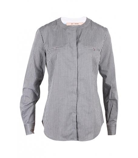 Skjorte med stiklommer og striber fra Rue de femme