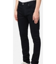 SLIM FIT 5 POCKET JEANS - BLACK