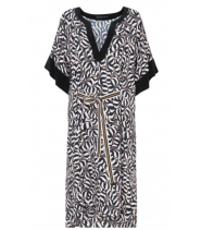 Stretch kjole med Safari print fra Summun