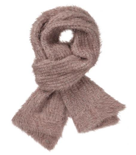 Strik tørklæde fra Gustav med pels - 20820