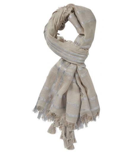 Strikket ternet tørklæde fra Gustav - 22806