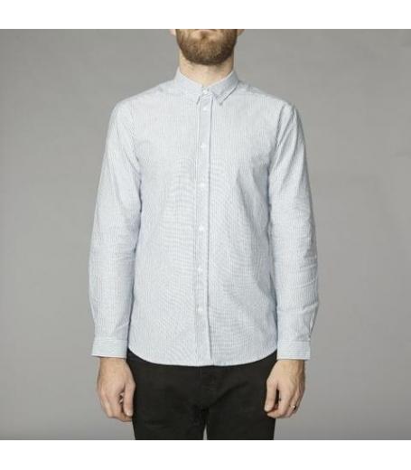 Suit Oxford-Stripe-SU4195 - lyseblå/hvid