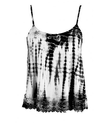Tie dyed jersey top - M1739