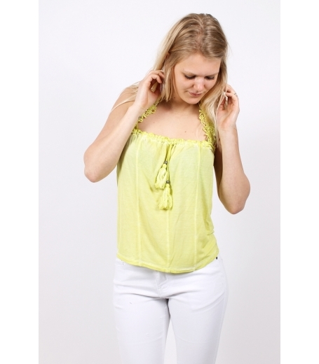 Top with neck strap