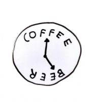 VALLEY CRUISE COFFEE BEER CLOCK