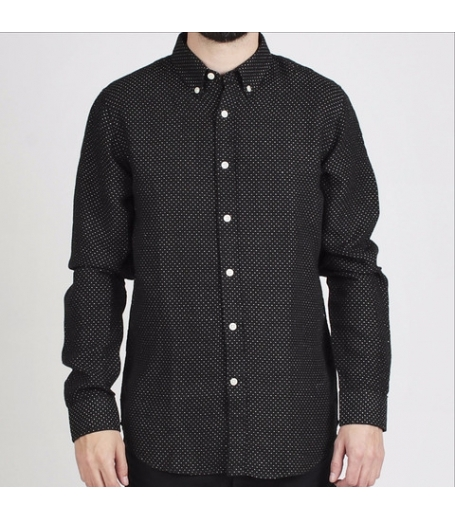 Velour Common dot linen - Skjorte
