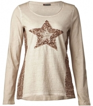 Washed star shirt