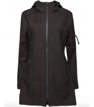 Womans camoflage raincoat