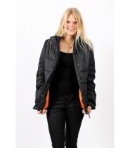 Womens fake down jacket