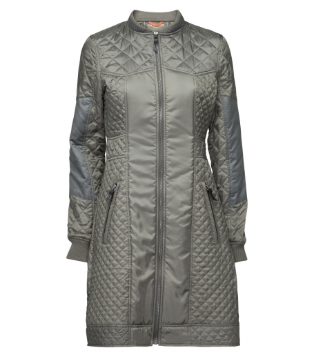 Womens quilted coat