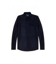 Native North uld skjorte - NAVY