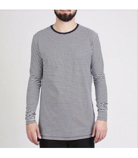 Zanerobe Stripe Flintlock LS Tee trøje