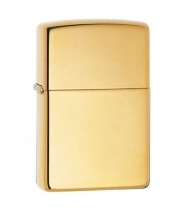 Zippo lighter- High Polish Brass